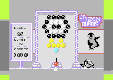 Frozen Bubble on C64 (?)